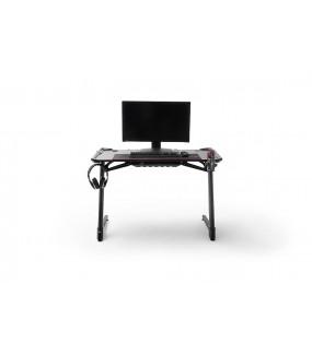 Biurko gamingowe z uchwytami do pokoju młodzieżowego