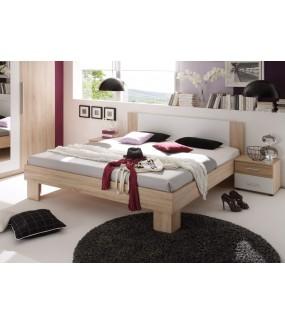 Łóżko MARTINA 160 Cm X 200 cm w kolorze dąb sonoma