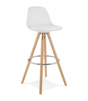 Nowoczesne krzesło barowe do salonu