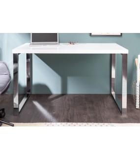 Biurko White Desk 120 x 60 cm White do biura w stylu nowoczesnym