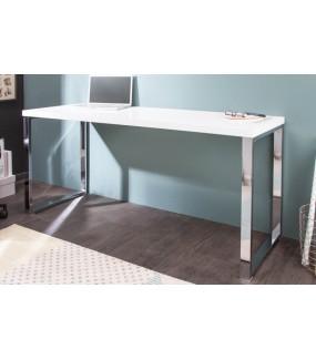 Biurko  White Desk 140 cm białe