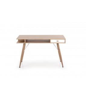 Praktyczne biurko do pokoju w stylu skandynawskim