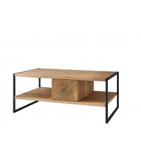 Stolik będzie pięknym i funkcjonalnym dodatkiem do pokoju dziennego w stylu nowoczesnym.