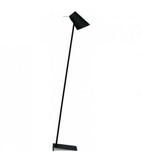 Lampa podłogowa Cardiff czarna
