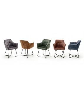Krzesło tapicerowane PANAMA świetnie będzie się prezentować w nowoczesnej jadalni oraz w industrialnym pokoju