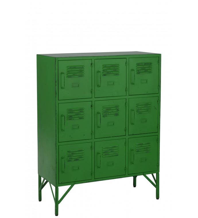 Jej mocny energetyzujący zielony kolor wniesie pozytywną energię do surowego industrialnego biura.