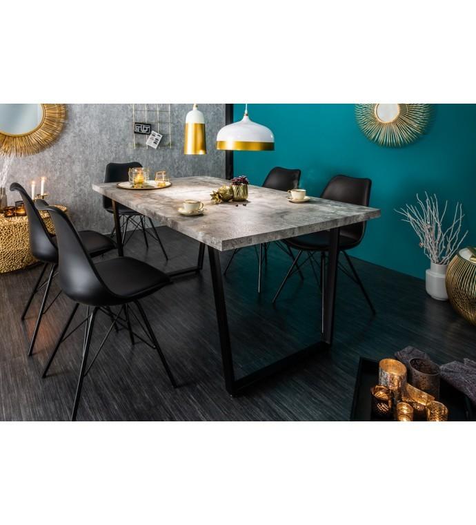 Stół Loft 160 Cm W Optyce Betonu