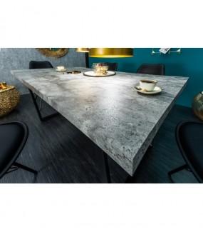 Stół Loft 160 Cm W Optyce Betonu do jadalni