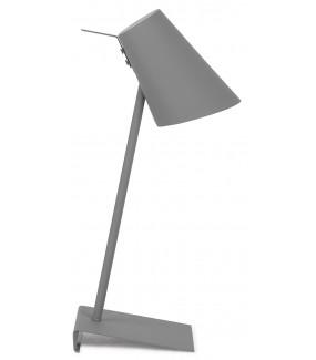 Lampa stołowa  Cardiff szara
