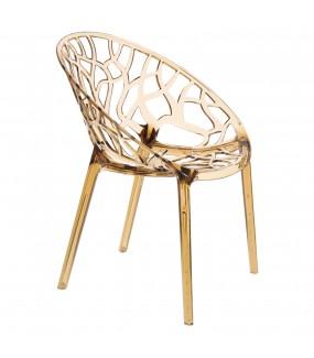 Krzesło ażurowe idealnie wpisze się we wnętrza industrialne oraz modern classic.
