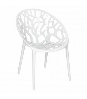 Krzesło ażurowe idealnie wpisze się we wnętrza industrialne oraz modern classic. Sprawdzi się w przestrzeni publicznej.
