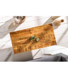 Stolik kawowy Scorpion 100 cm mango naturalny do salonu