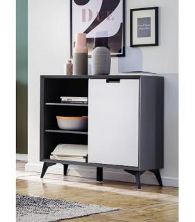 Komoda z 4 szufladami idealnie sprawdzi się w pokoju w stylu nowoczesnym