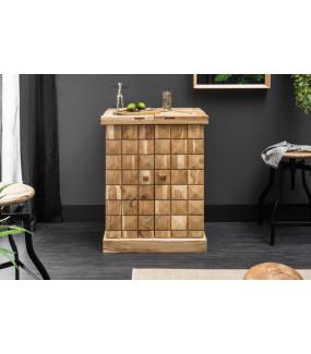 Barek Mosaico 130 cm drewno akacja