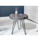Stolik kawowy Goa 43 cm akacja szara