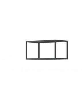 Półka metalowa idealna do wnętrz w stylu industrialnym