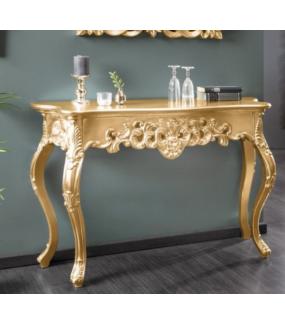 Konsola Venice 110 cm złota