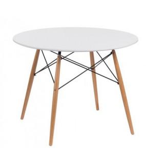 Stół DTW 100 cm biały
