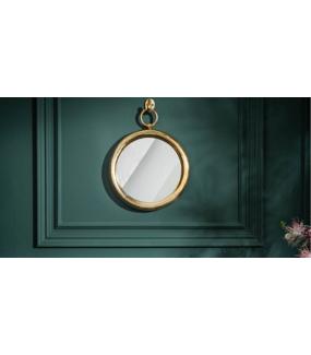 Lustro DEBORA 30 cm złote