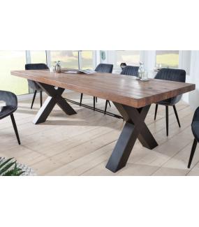 Stół FACTORY 240 cm drewno dąb dziki