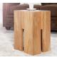 Stolik Castle 45 cm drewno dąb dziki