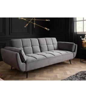 Sofa rozkładana OLIWIA 213 cm szara