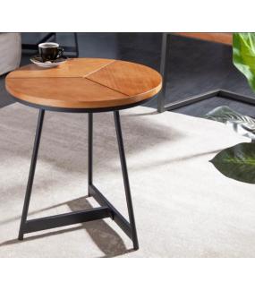 Praktyczny stolik GRENADA 45 cm w optyce dębu do salonu lub pokoju
