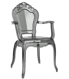 Krzesło KING ARM dymione idealnie wpisze się w wystrój industrialnej kuchni.