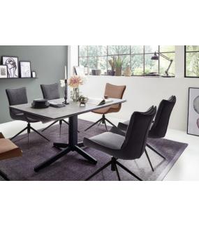 Praktyczny stół do jadalni w stylu nowoczesnym. Będzie idealny zarówno do klasycznego jak i nowoczesnego salonu.