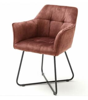 Wygodne krzesło do pokoju w stylu klasycznym. Świetnie wpisze się do jadalni w industrialnej aranżacji.