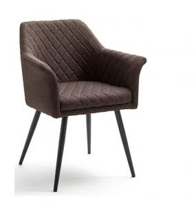 Krzesło COVINA brązowe