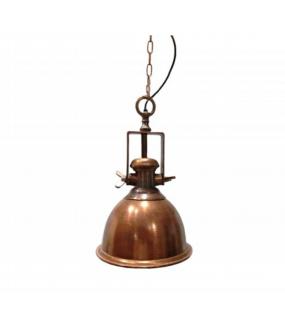 Lampa wisząca FAT 29 cm miedziana