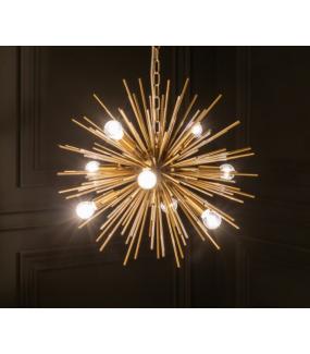 Lampa wisząca SOLARLJOS 50 cm złoty