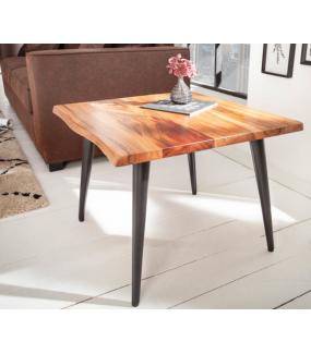Stolik kawowy Organic Living 60 cm drewno akacja