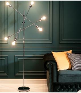 Lampa Podłogowa Craft Mystic Variation 163 Cm srebrna