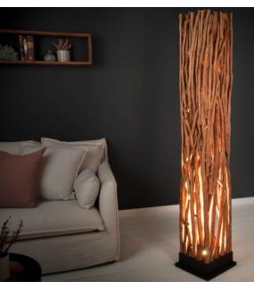 Lampa podłogowa Epria 175 cm Longan Naturalna