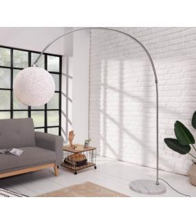Lampa podłogowa LEAH 205 cm biała