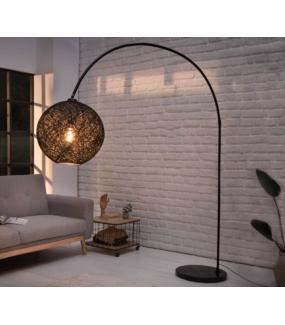 Lampa podłogowa LEAH 205 cm czarna