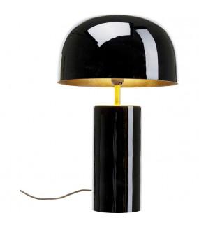 Przepiękna lampa w kolorze czarnym do salonu