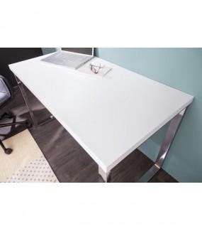 Biurko White Desk 120 Cm Białe