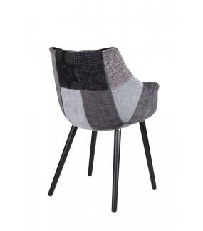Krzesło Twelve Patchwork szary