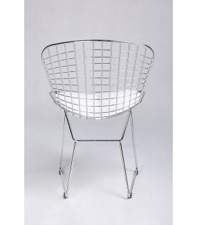 Industrialne krzesło do salonu w stylu industrialnym