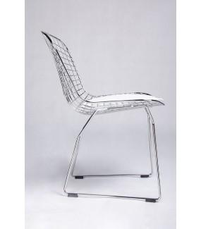 Krzesło NET SOFT z poduszką do salonu