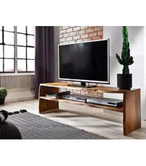 Stolik pod TV BIRAMI 145 cm naturalna