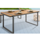 Stół TORTUGA 180 cm w optyce drewna do ogrodu lub na taras