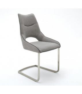 Krzesła ALDRINA jasnoszare