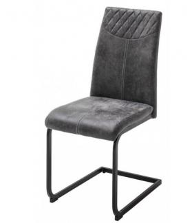 Krzesło AOSTA antracytowe