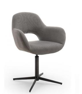 Krzesło MELROSE 2S z obrotowym siedziskiem cappuccino