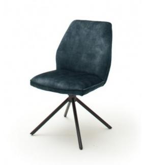 Krzesło OTTAWA turkusowe