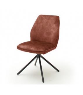 Krzesło OTTAWA brązoworude